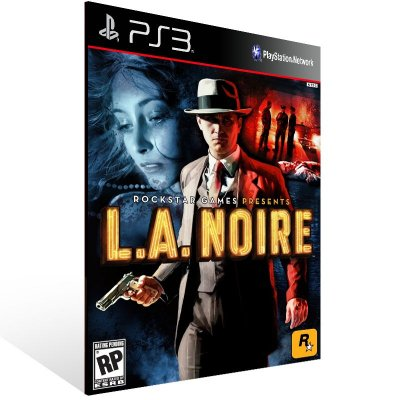 Ps3 - L.A. Noire - Digital Código 12 Dígitos US