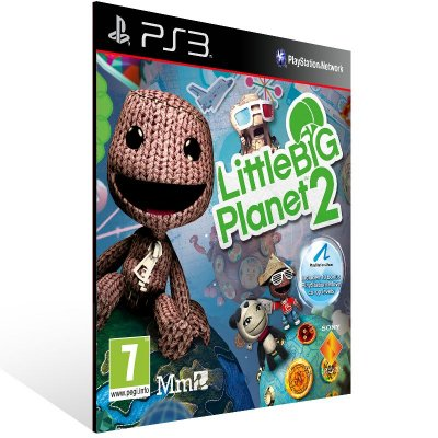 Ps3 - LittleBigPlanet 2 - Digital Código 12 Dígitos US