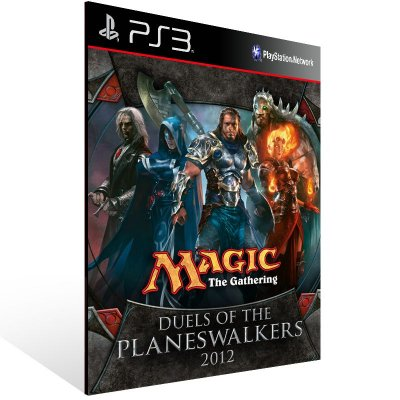 Ps3 - Magic: The Gathering - Duels of the Planeswalkers 2012 - Digital Código 12 Dígitos US
