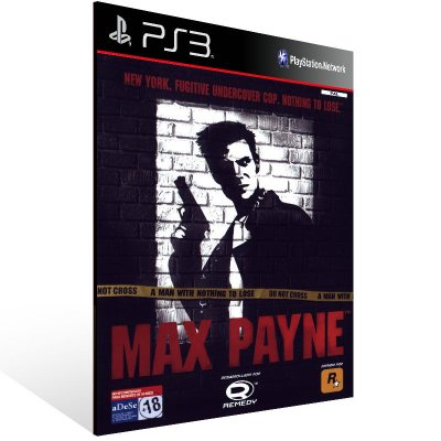 Ps3 - Max Payne (PS2 Classic) - Digital Código 12 Dígitos US