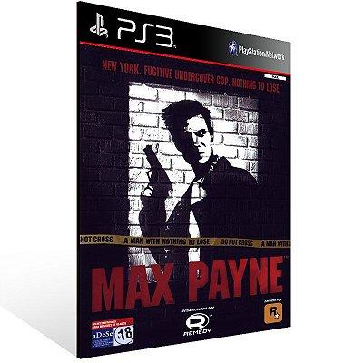 PS3 - Max Payne (PS2 Classic) - Digital Código 12 Dígitos Americano