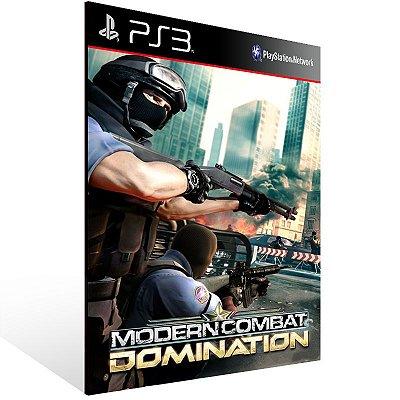 PS3 - Modern Combat: Domination - Digital Código 12 Dígitos Americano