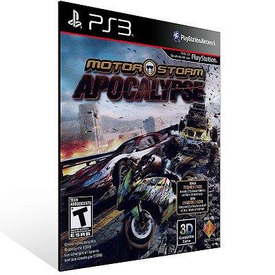 PS3 - MotorStorm Apocalypse - Digital Código 12 Dígitos Americano