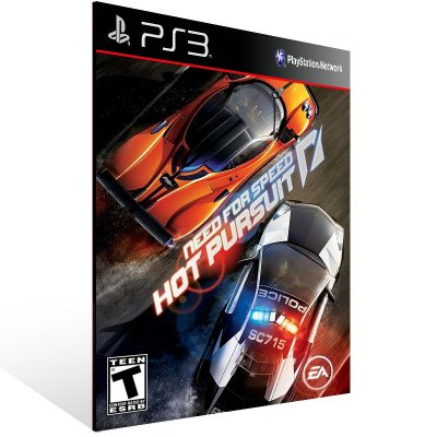 PS3 - Need for Speed Hot Pursuit - Digital Código 12 Dígitos Americano