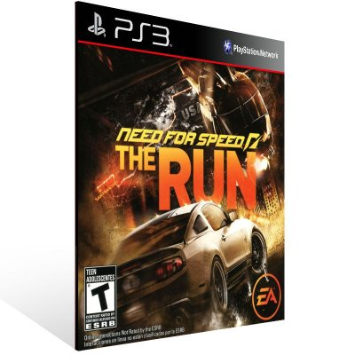 PS3 - NEED FOR SPEED THE RUN - Digital Código 12 Dígitos Americano