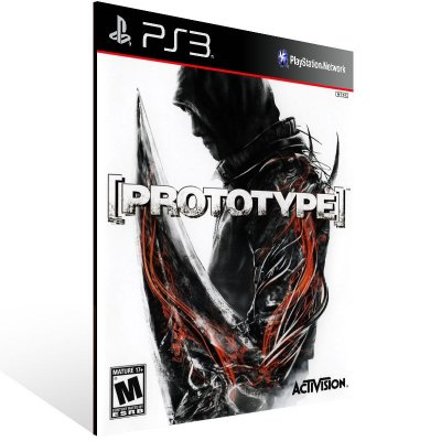 Ps3 - PROTOTYPE - Digital Código 12 Dígitos US
