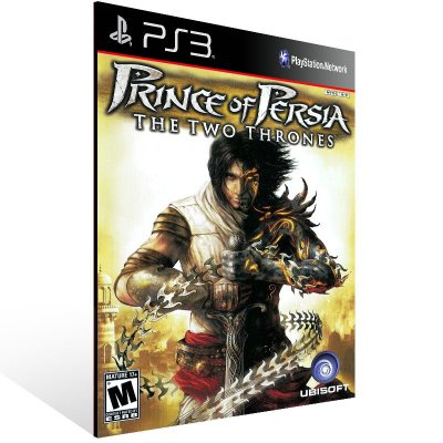 PS3 - Prince Of Persia The Two Thrones HD - Digital Código 12 Dígitos Americano