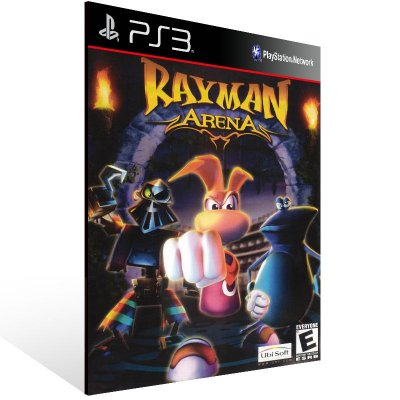 Ps3 - Rayman Arena (PS2 Classic) - Digital Código 12 Dígitos US