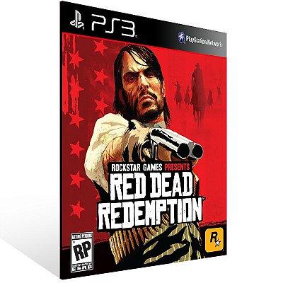 Ps3 - Red Dead Redemption - Digital Código 12 Dígitos US