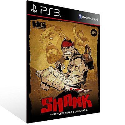Ps3 - Shank - Digital Código 12 Dígitos US