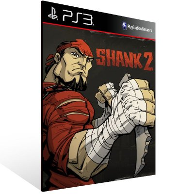 PS3 - Shank 2 - Digital Código 12 Dígitos Americano