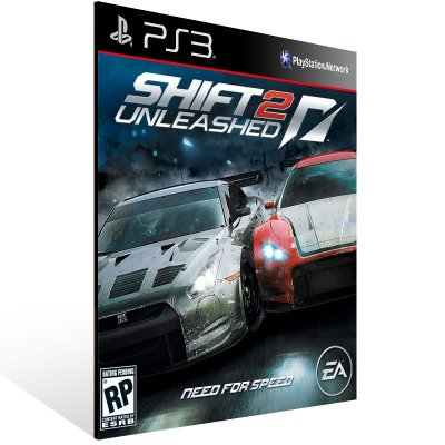 PS3 - SHIFT 2 UNLEASHED - Digital Código 12 Dígitos Americano