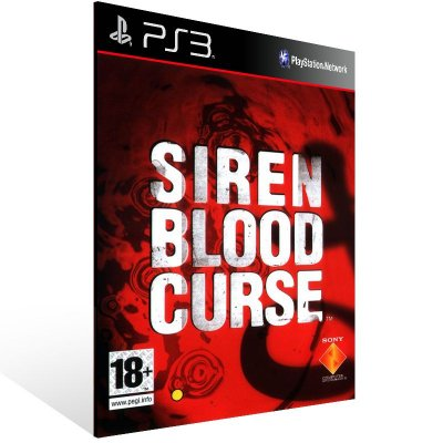 PS3 - Siren: Blood Curse Episodes 1-12 - Digital Código 12 Dígitos Americano