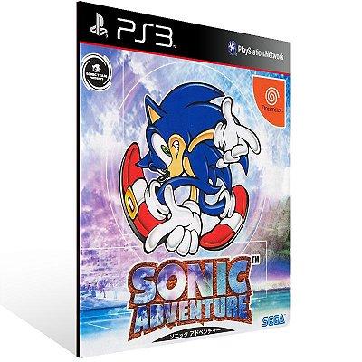 Ps3 - Sonic Adventure - Digital Código 12 Dígitos US
