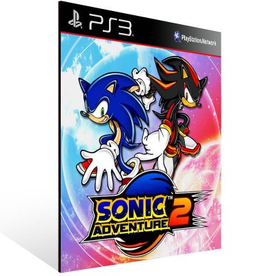 Ps3 - Sonic Adventure 2 - Digital Código 12 Dígitos US