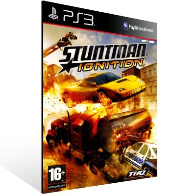 PS3 - Stuntman: Ignition (PS2 Classic) - Digital Código 12 Dígitos Americano