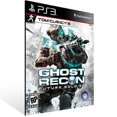 Ps3 - Tom Clancy's Ghost Recon: Future Soldier - Digital Código 12 Dígitos US