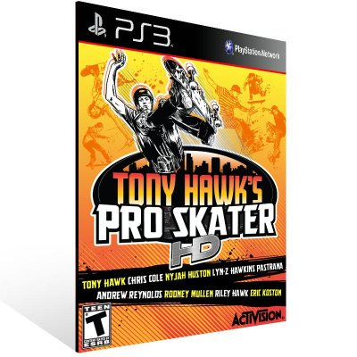 Ps3 - Tony Hawk's Pro Skater HD - Digital Código 12 Dígitos US