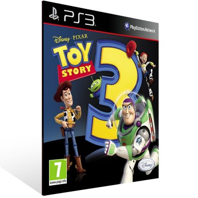 PS3 - Toy Story 3: The Video Game - Digital Código 12 Dígitos Americano