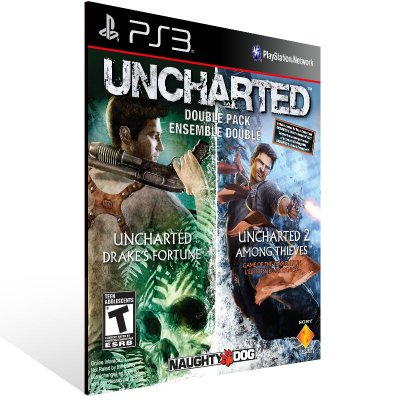 PS3 - UNCHARTED Greatest Hits Dual Pack - Digital Código 12 Dígitos Americano