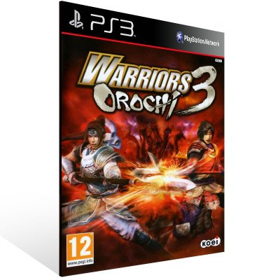 PS3 - WARRIORS OROCHI 3 - Digital Código 12 Dígitos Americano