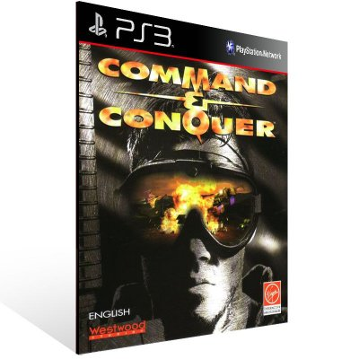 Ps3 - Command & Conquer - Digital Código 12 Dígitos US