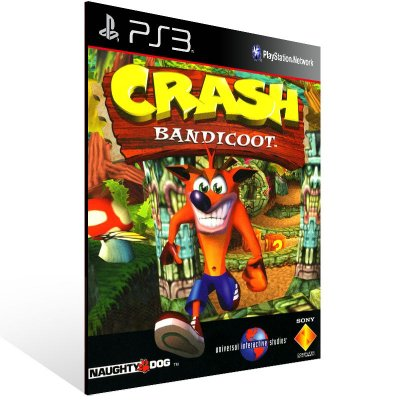 PS3 - Crash Bandicoot - Digital Código 12 Dígitos Americano