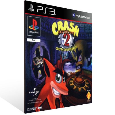 PS3 - Crash Bandicoot 2 - Digital Código 12 Dígitos Americano