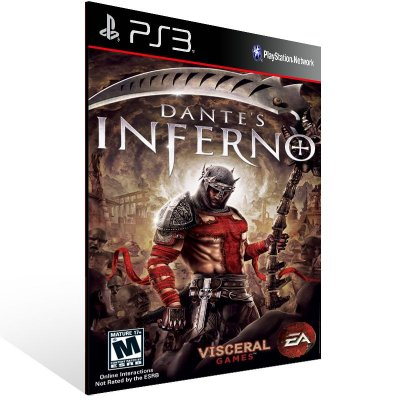 PS3 - Dante's Inferno - Digital Código 12 Dígitos Americano
