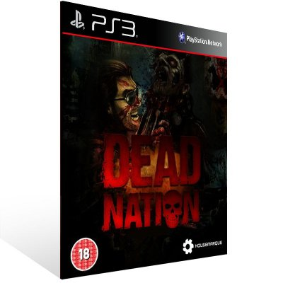 PS3 - Dead Nation - Digital Código 12 Dígitos Americano