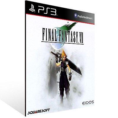 PS3 - FINAL FANTASY VII (PSOne Classic) - Digital Código 12 Dígitos Americano