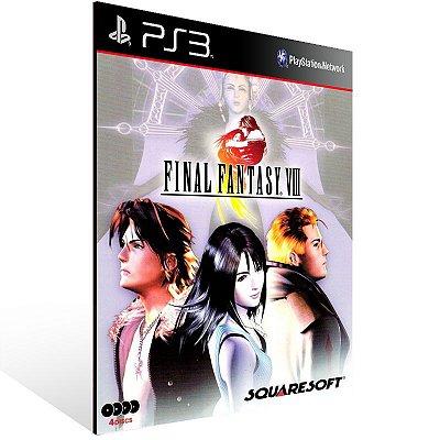 PS3 - FINAL FANTASY VIII (PSOne Classic) - Digital Código 12 Dígitos Americano