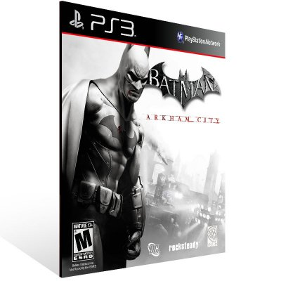 Ps3 - Batman Arkham City - Digital Código 12 Dígitos US