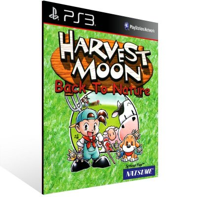 PS3 - Harvest Moon: Back To Nature (PSOne Classic) - Digital Código 12 Dígitos Americano