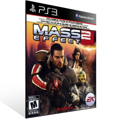 Ps3 - Mass Effect 2 - Digital Código 12 Dígitos US