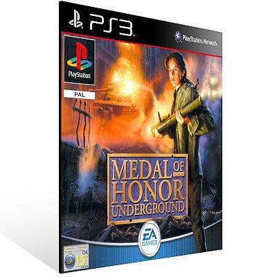 Ps3 - Medal of Honor Underground (PSOne Classic) - Digital Código 12 Dígitos US