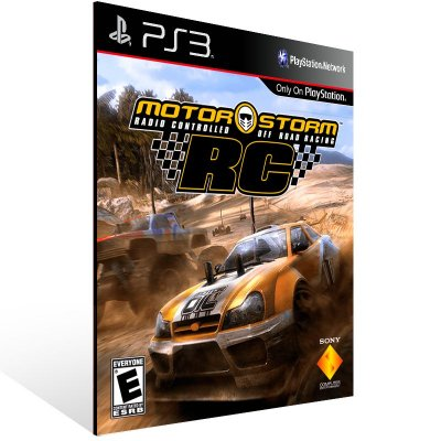PS3 - MotorStorm RC - Digital Código 12 Dígitos Americano