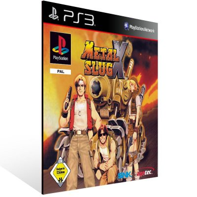 PS3 - Metal Slug X (PSOne Classic) - Digital Código 12 Dígitos Americano