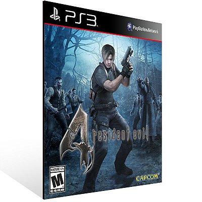PS3 - Resident Evil 4 - Digital Código 12 Dígitos Americano