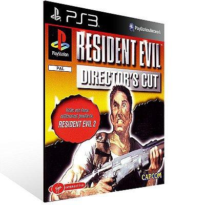 Ps3 - Resident Evil Director's Cut - Digital Código 12 Dígitos US