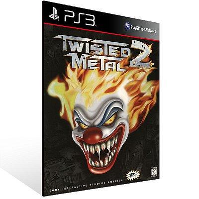 Ps3 - Twisted Metal 2 (PSOne Classic) - Digital Código 12 Dígitos US