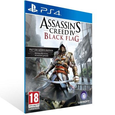 Ps4 - Assassin's Creed IV Black Flag - Digital Código 12 Dígitos US