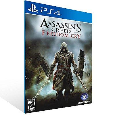 Ps4 - Assassin's Creed Freedom Cry - Digital Código 12 Dígitos US