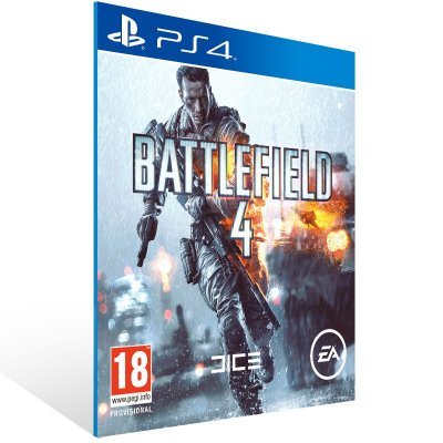 PS4 - Battlefield 4 - Digital Código 12 Dígitos Americano