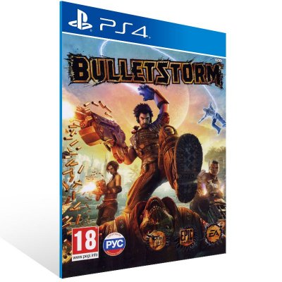 PS4 - Bulletstorm: Full Clip Edition - Digital Código 12 Dígitos Americano