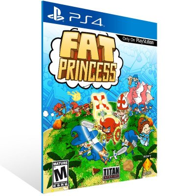 PS4 - Fat Princess Adventures - Digital Código 12 Dígitos US
