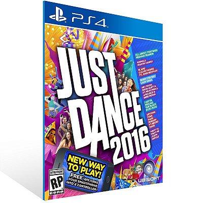 PS4 - Just Dance 2016 - Digital Código 12 Dígitos US