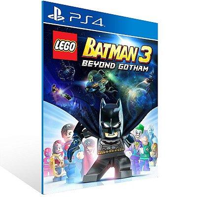 PS4 - LEGO Batman 3: Beyond Gotham - Digital Código 12 Dígitos US