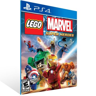 PS4 - LEGO Marvel Super Heroes - Digital Código 12 Dígitos Americano