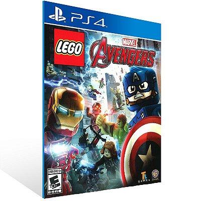 Ps4 - LEGO Marvel's Avengers - Digital Código 12 Dígitos US